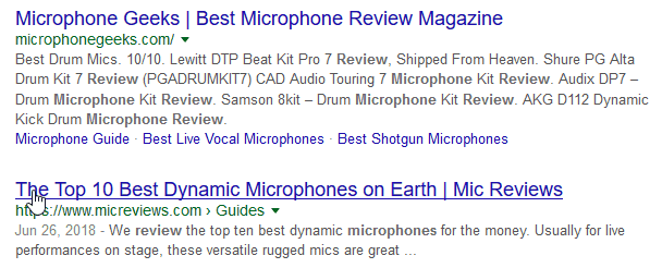 google microphone search