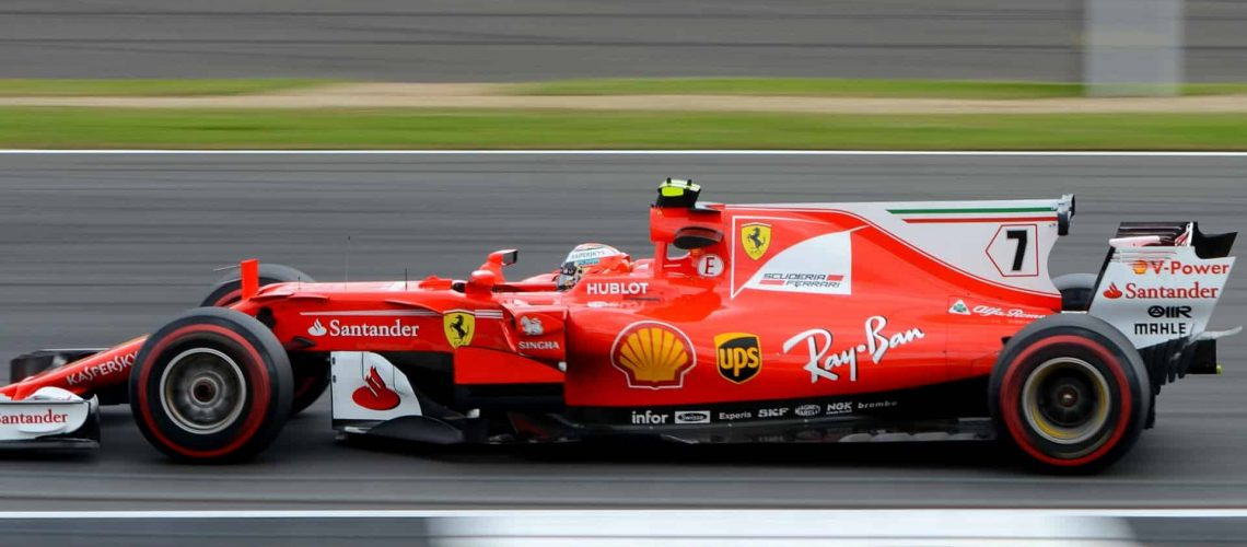 high-performance race car